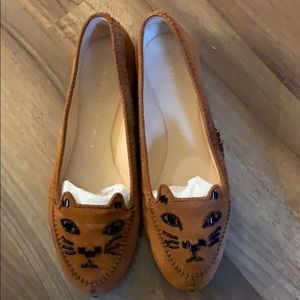 Moving sales!Charlotte Olympia kittenflats/loafers